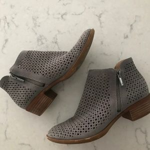 Lucky Brand Perforated Basal  Booties